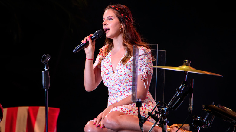 Lana Del Rey på scenen