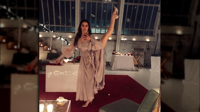 Violetta Komyshan danser