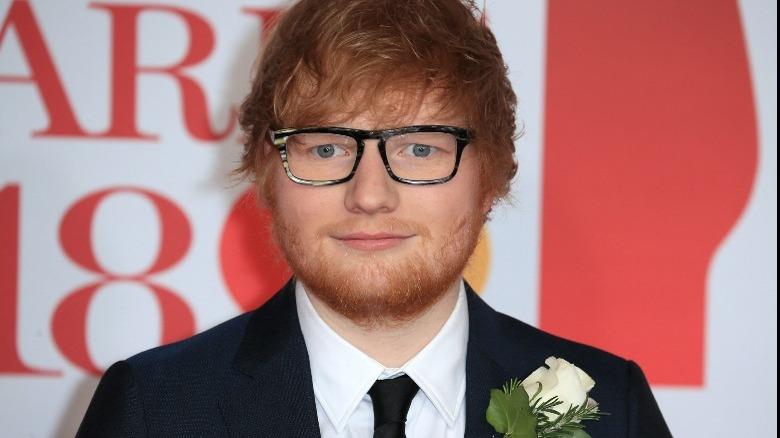 Ed Sheeran smiler