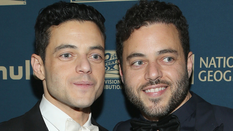 Rami og Sami på Golden Globes