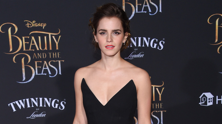Emma Watson på Beauty and the Beast -premieren