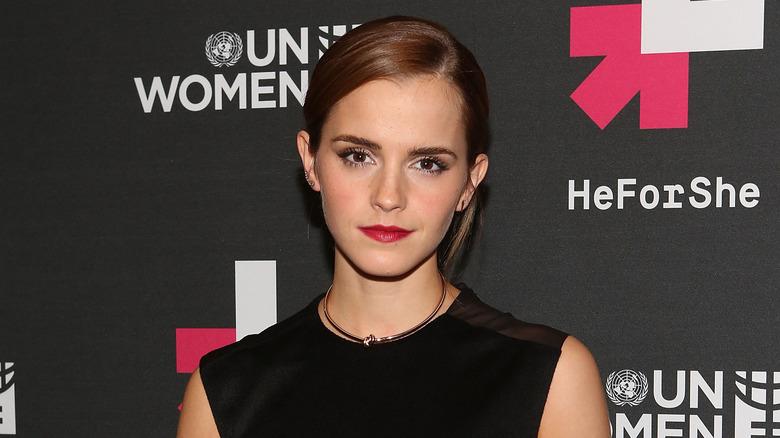 Emma Watson på FN Women's HeForShe -festen
