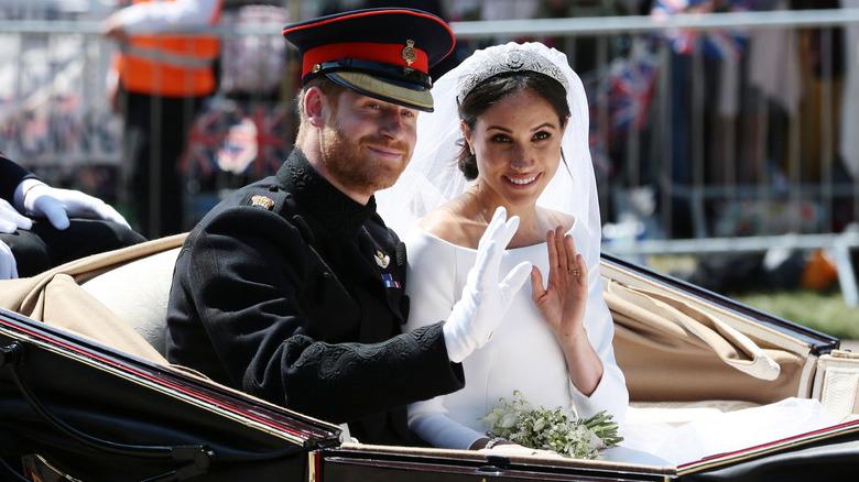 Bryllupet mellom prins Harry og Meghan Markle