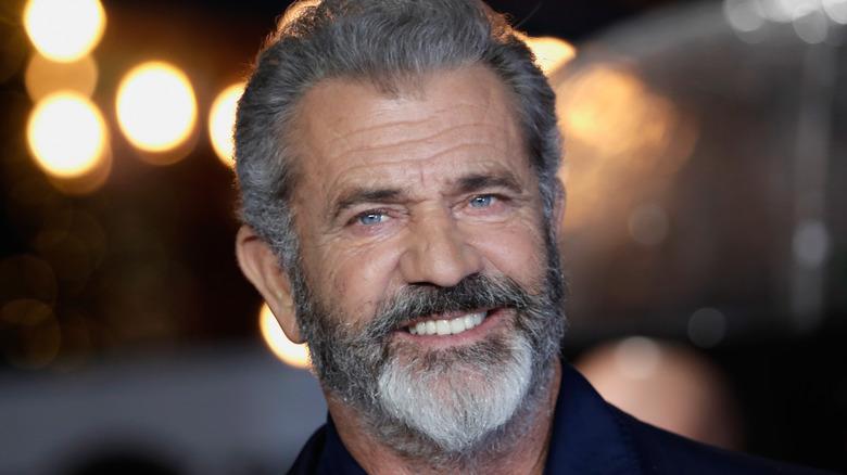 Mel Gibson smiler