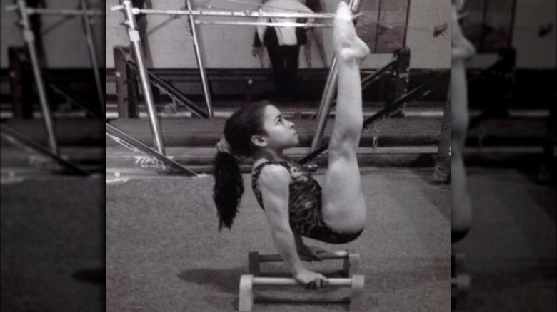 Aly Raisman trener som barn