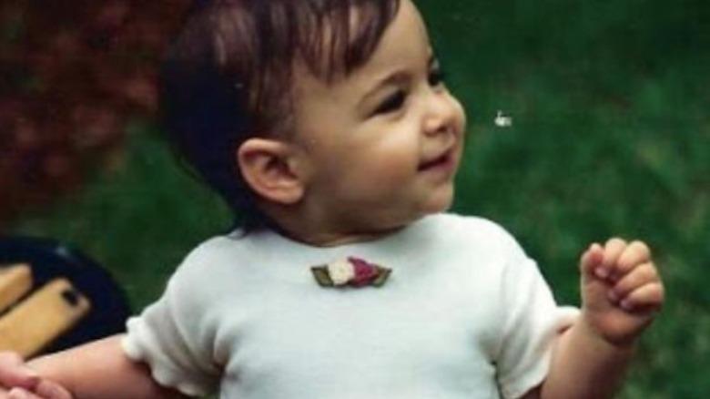 Aly Raisman som baby