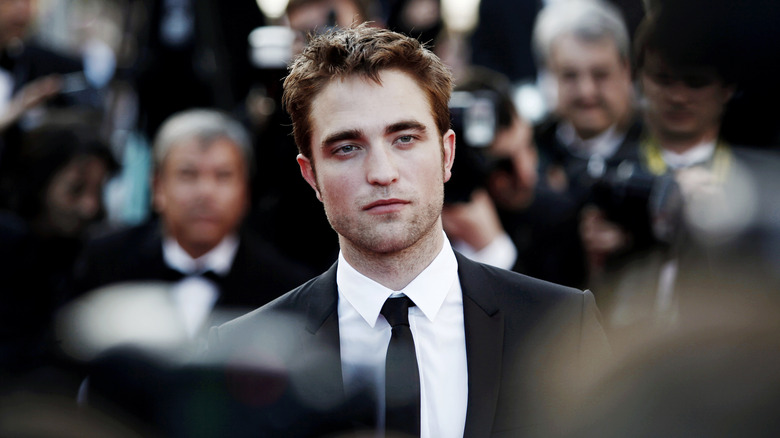 Robert Pattinson på et industriarrangement