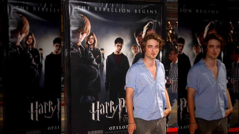 Robert Pattinson deltok på premiere på Harry Potter