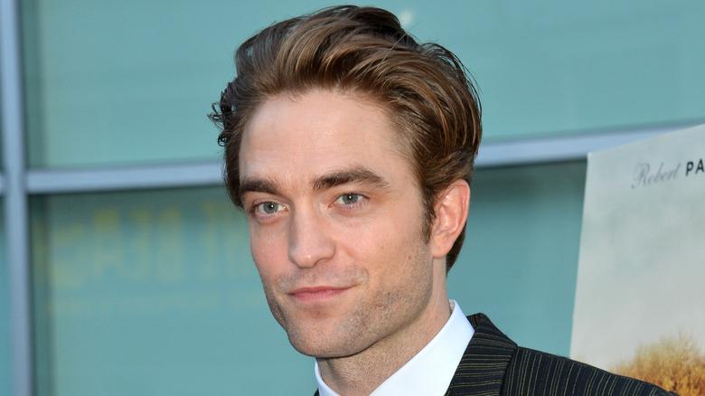 Robert Pattinson smiler