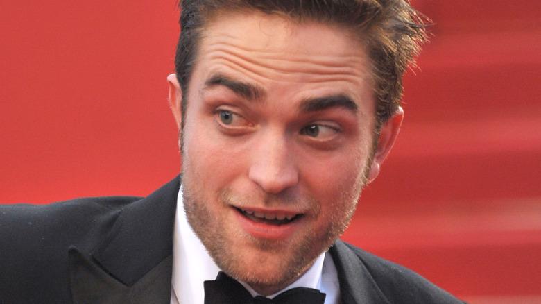 Robert Pattinson med et frekt uttrykk
