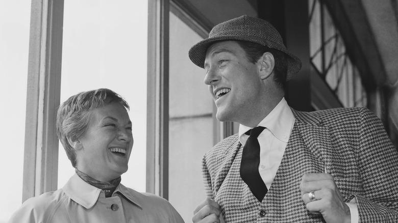 Dick Van Dyke med sin første kone Margie Willett