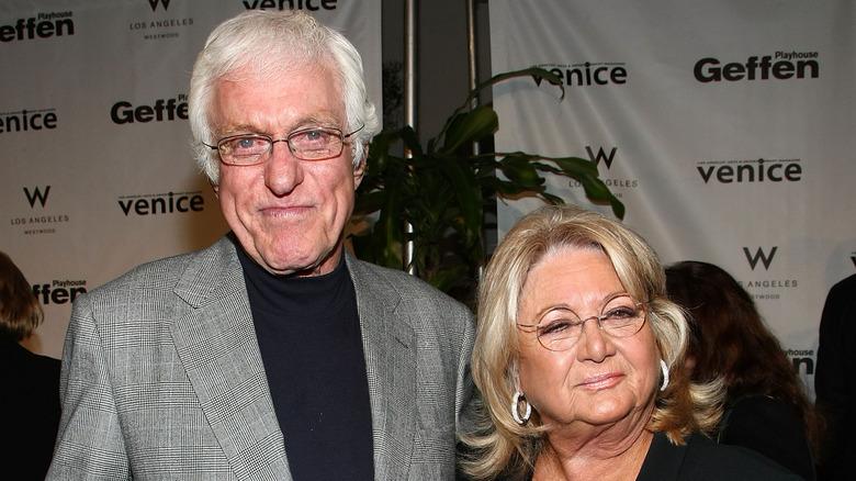 Dick Van Dyke med Michelle Triola i 2008
