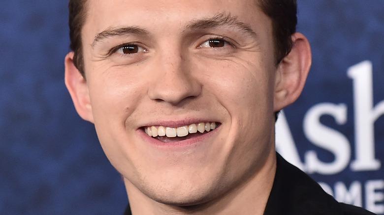Tom Holland smiler