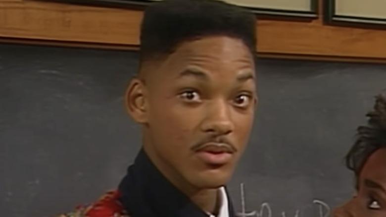 Will Smith ser på kameraet i Fresh Prince of Bel-Air