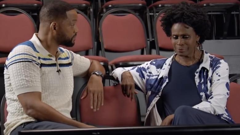 Will Smith og Janet Hubert på Fresh Prince -gjenforening