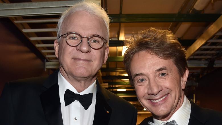 Steve Martin og Martin Short smiler