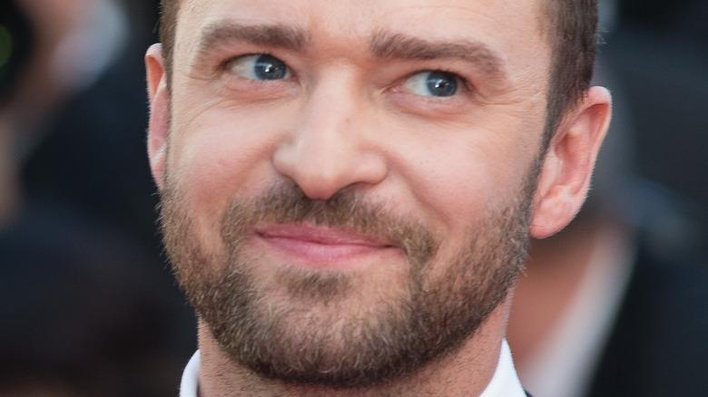Justin Timberlake på den røde løperen