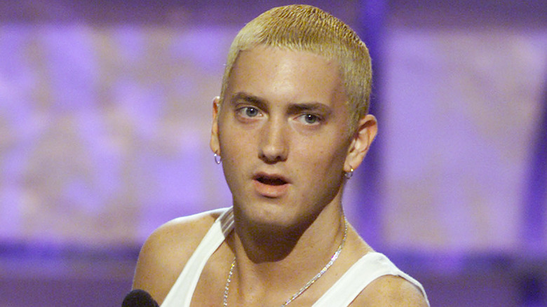 Eminem blond