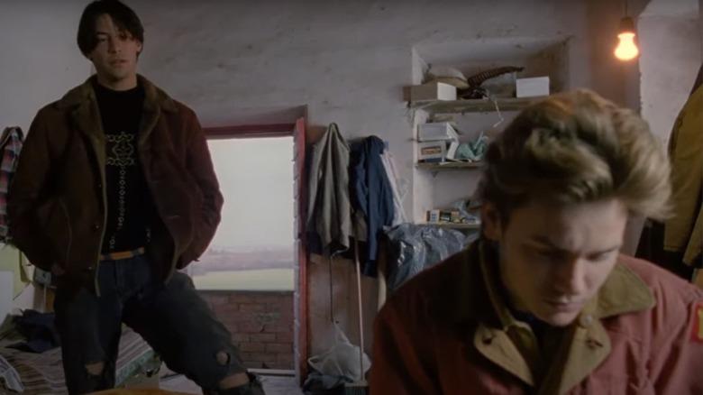 Keanu Reeves og River Phoenix som skuespiller