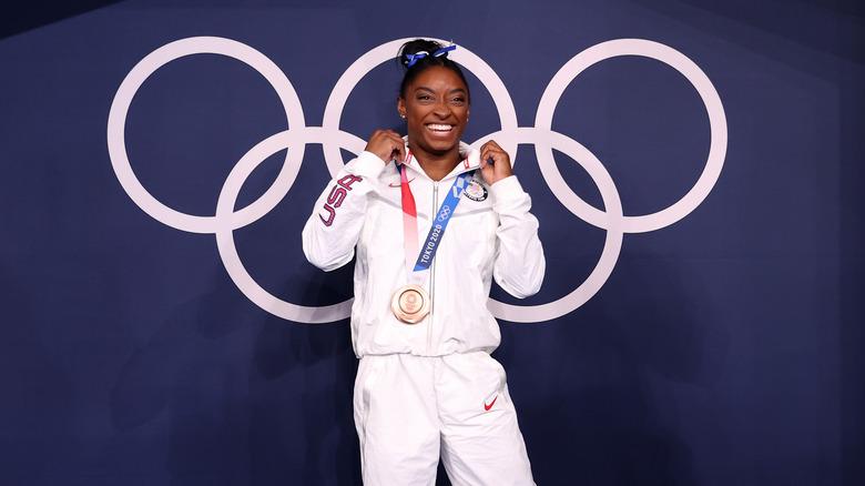 Simone Biles vinner bronsemedalje