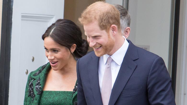 Prins Harry og Meghan Markle på arrangementet
