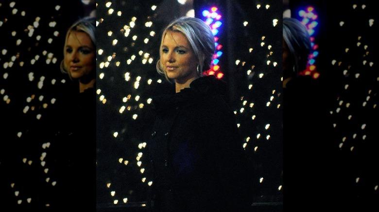 Britney Spears går utenfor