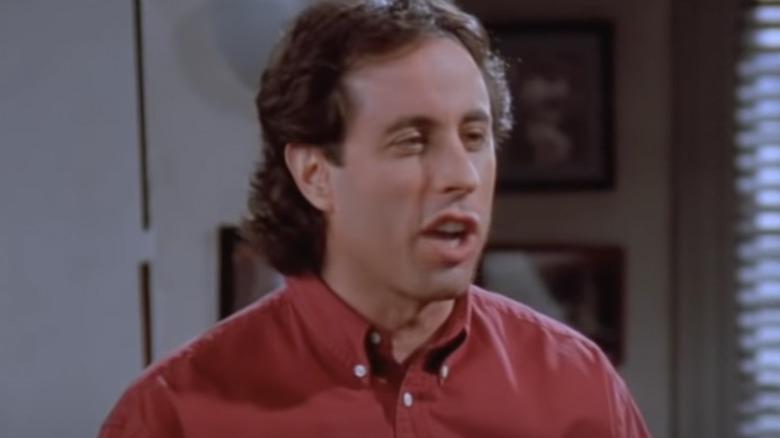 Jerry Seinfeld i Seinfeld -episoden som sendes på TBS