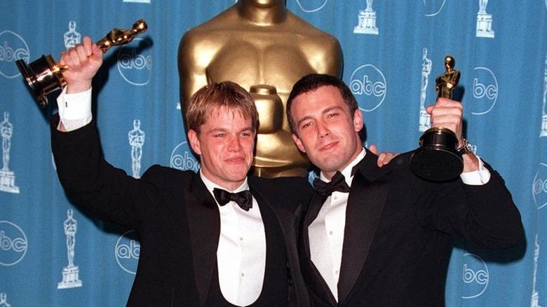 Matt Damon og Ben Affleck vinner en Oscar
