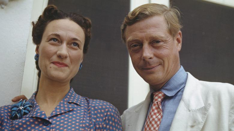 Wallis Simpson og kong Edward VIII