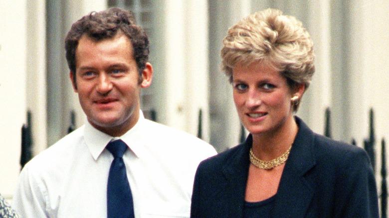 Paul Burrell og prinsesse Diana i 1994