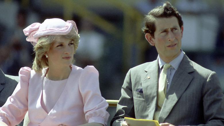 Prinsesse Diana og prins Charles
