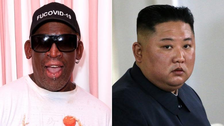 Dennis Rodman og Kim Jong-un