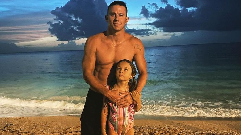 Channing Tatum holder datteren Everly