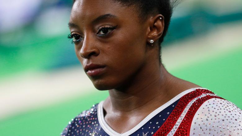 Simone Biles på Rio Games i 2016