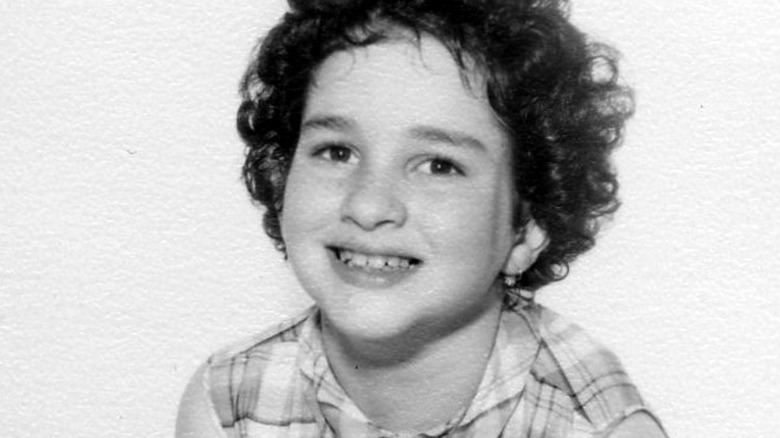 Sonia Sotomayor som barn, smilende