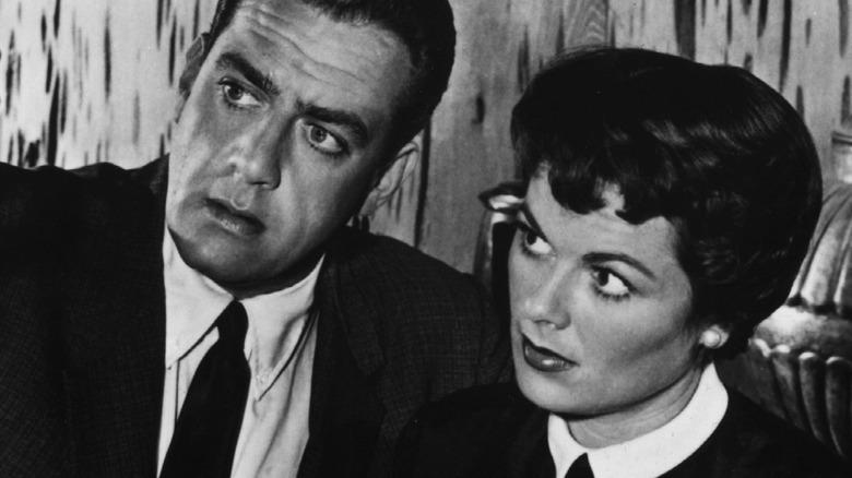 Raymond Burr og Barbara Hale i Perry Mason