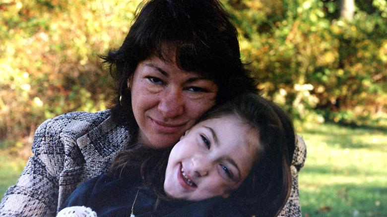 Sonia Sotomayor og hennes niese Kylie