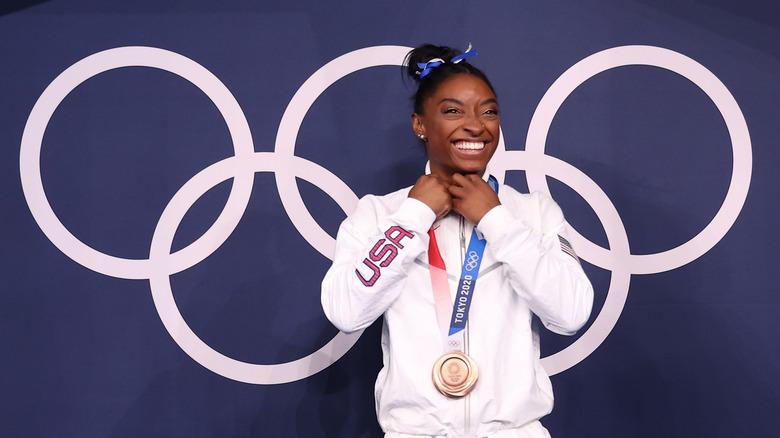 Simone Biles, OL i Tokyo, 2021