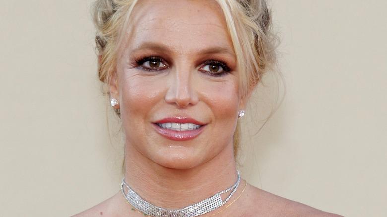Britney Spears diamant choker