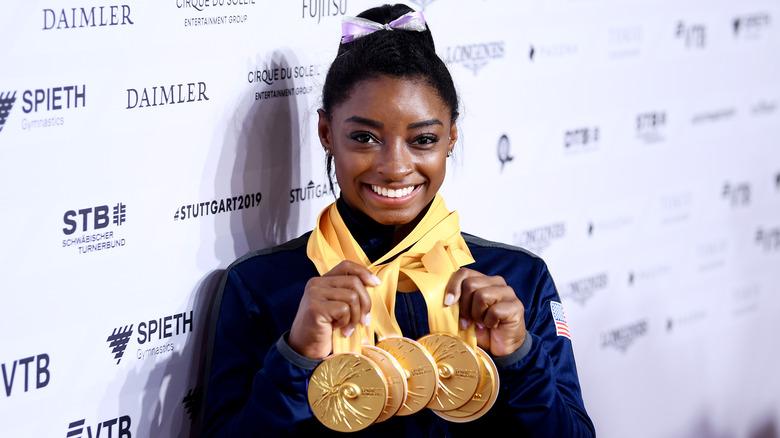 Simone Biles medaljer