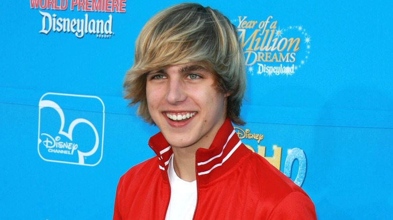 Cody Linley smilte i 2007