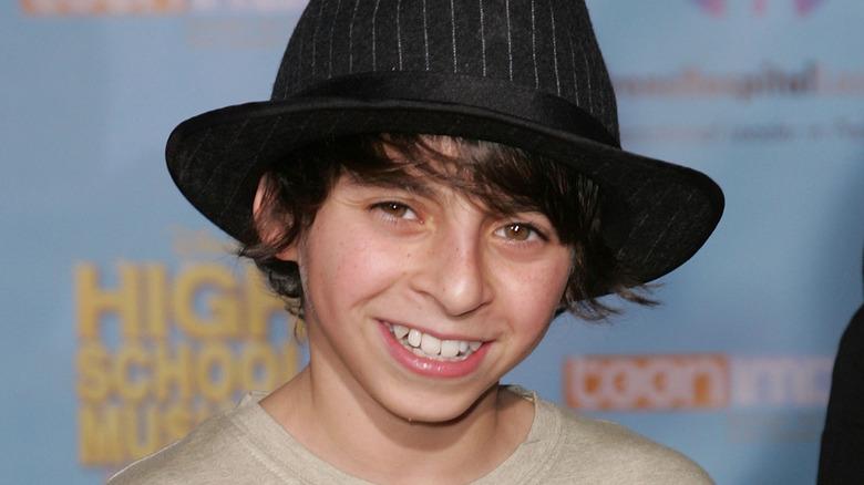 Moises Arias smilte i 2007