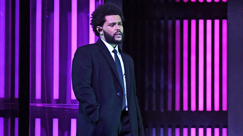 The Weeknd på scenen