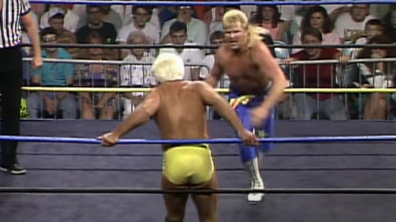 Ric Flair og Bobby Eaton -bryting