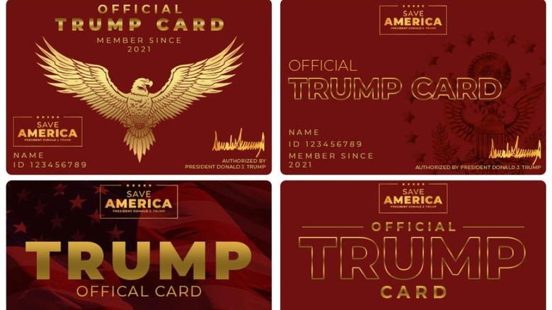 Donald Trump -kort