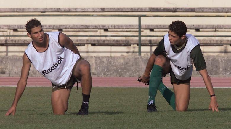 Ricardo Quaresma og Cristiano Ronaldo i 2001