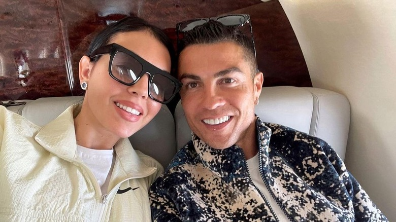 Georgina Rodriguez og Cristiano Ronaldo