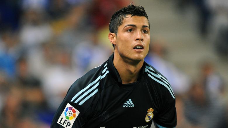 Cristiano Ronaldo spilte for Real Madrid i 2009