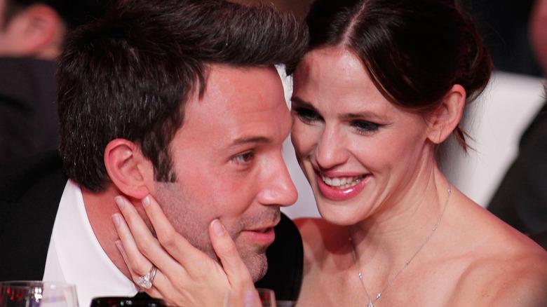Ben Affleck og Jennifer Garner på Critics 'Choice Movie Awards