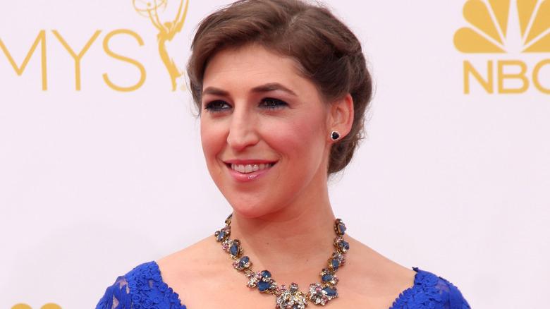 Mayim Bialik på Emmys